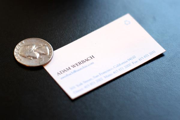 werbach card
