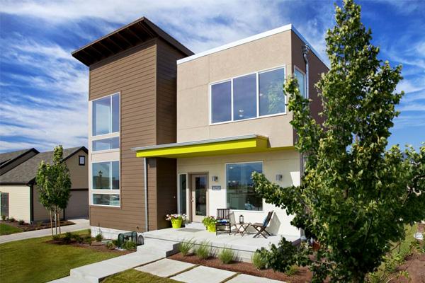 SolarPowered Modern Homes at Daybreak Mattson Creative