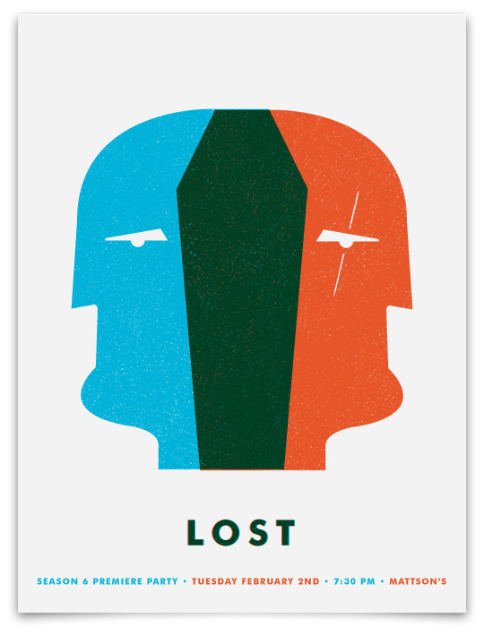 Thumb Gran poster minimalista para la Temporada 6 de Lost (Fan-Made)