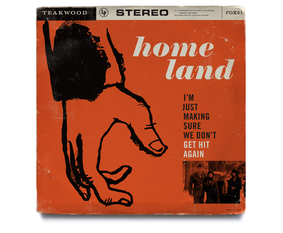 Homeland vintage jazz record covers mattson creative for Classic house music albums