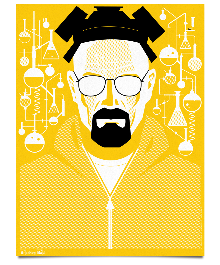 ty mattson breaking bad posters mattson creative. Black Bedroom Furniture Sets. Home Design Ideas