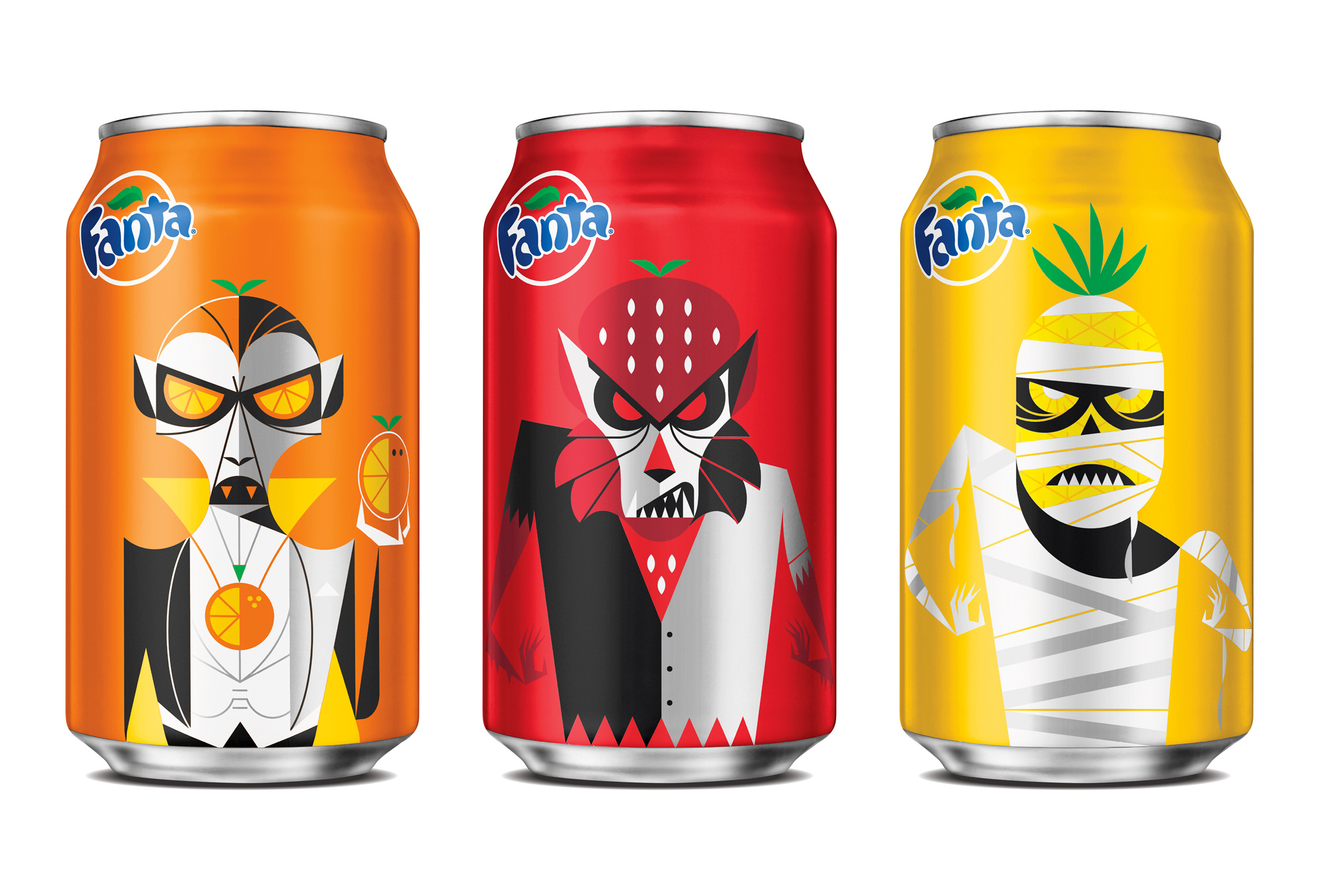 Fanta Halloween Cans 2020 Mattson Creative   Fanta Halloween Packaging