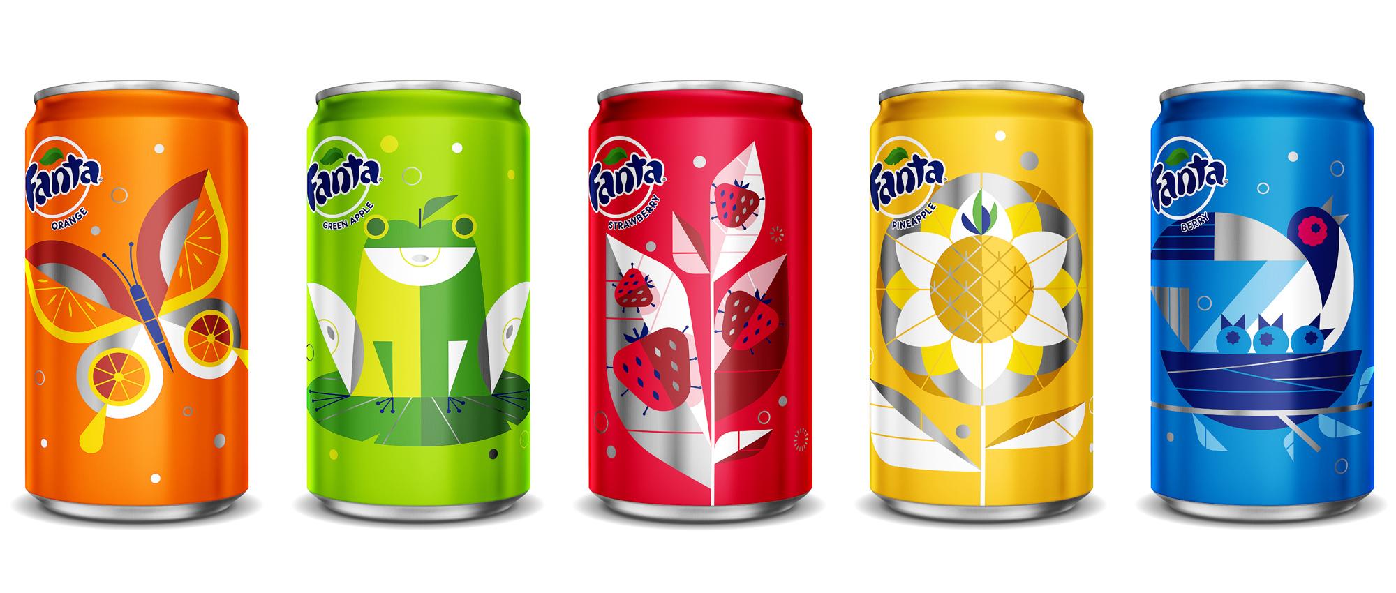 Fanta spring cans 01